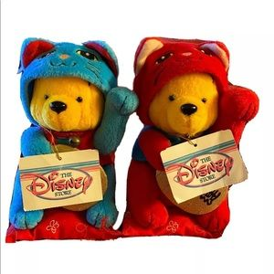 2Rare Disney Store Japan Winnie the Pooh Lucky Cat